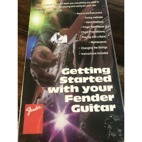 Getting Started with Your Fender Guitar - Guitar I